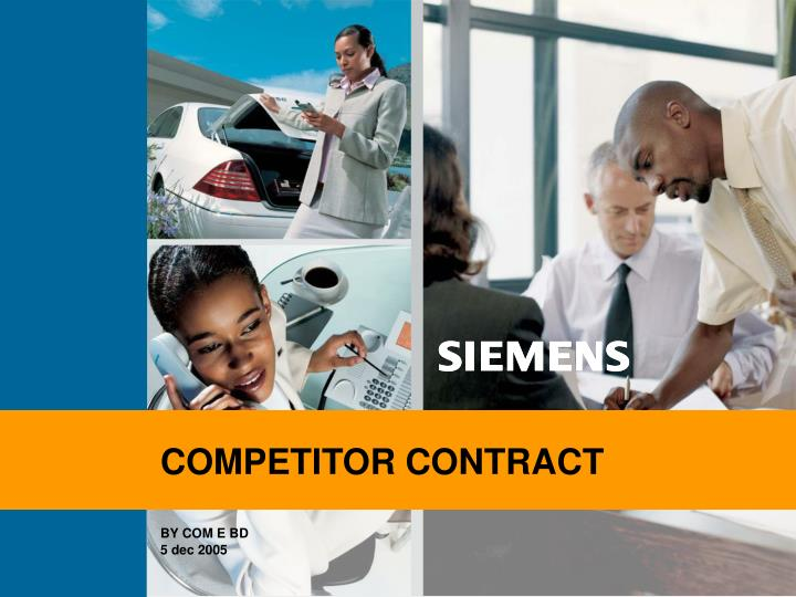 COMPETITOR CONTRACT