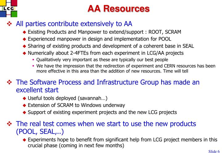 AA Resources