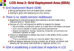 lcg area 2 grid deployment area gda