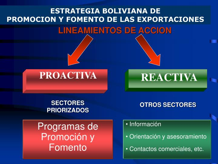 ESTRATEGIA BOLIVIANA DE