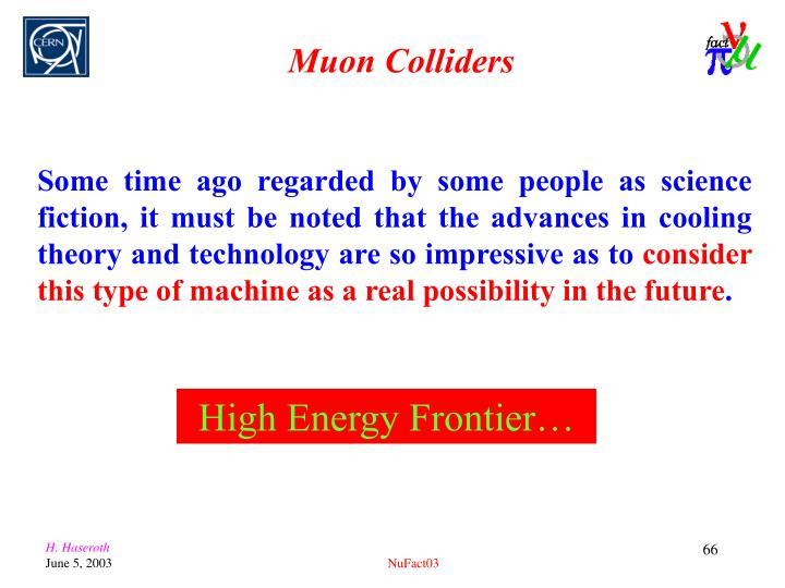 Muon Colliders