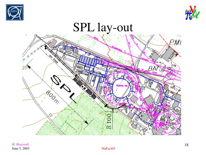 SPL lay-out