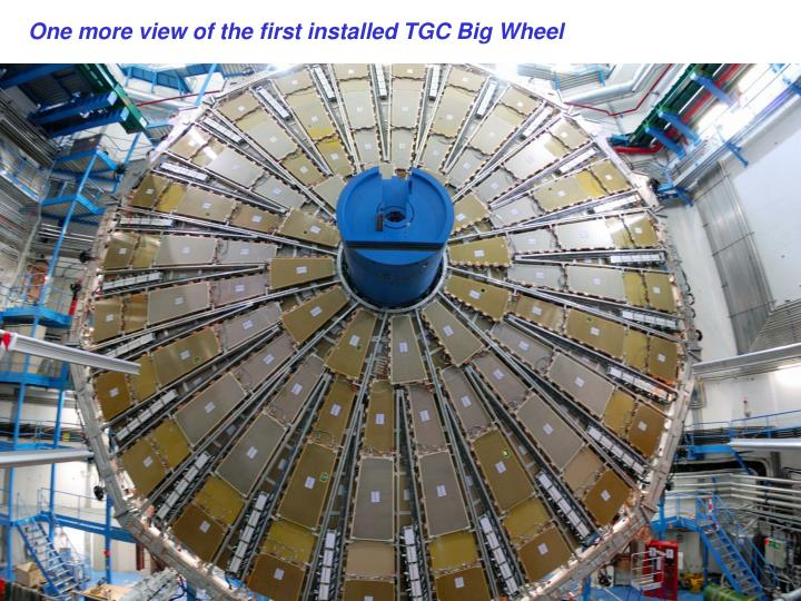 One more view of the first installed TGC Big Wheel