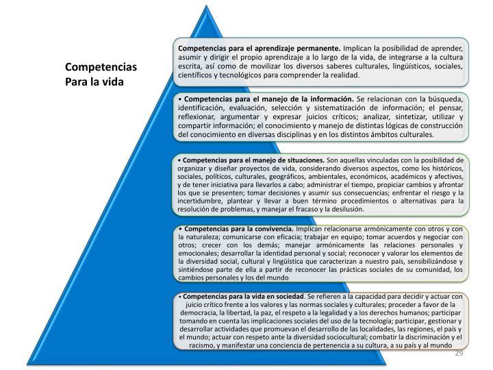Competencias para el aprendizaje permanente.