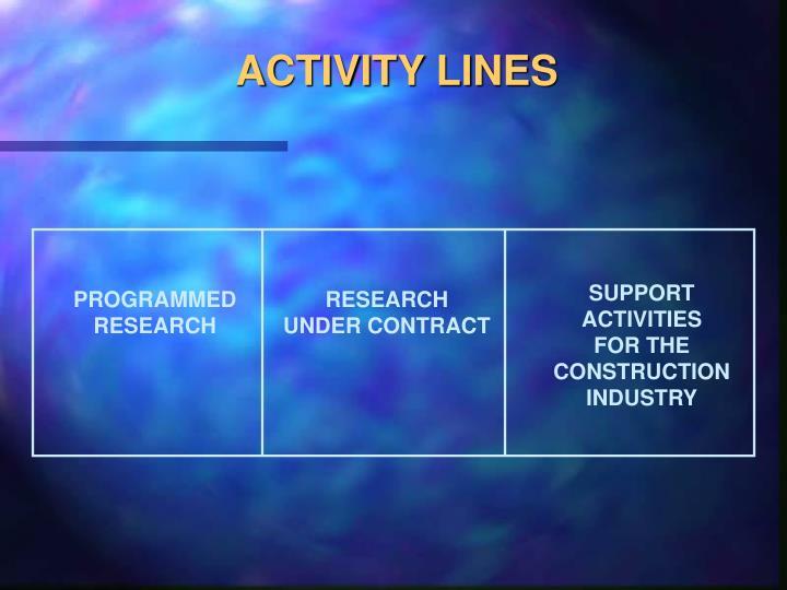 ACTIVITY LINES