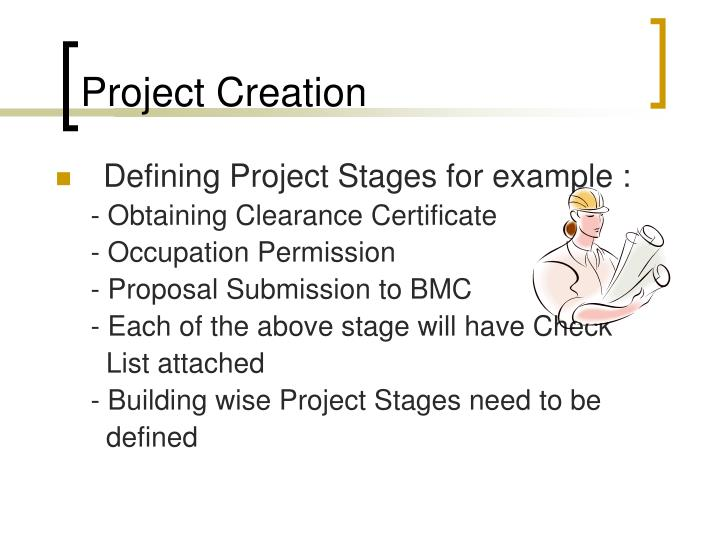 Project Creation