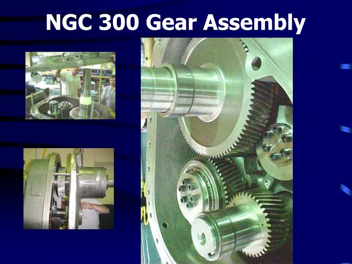 NGC 300 Gear Assembly