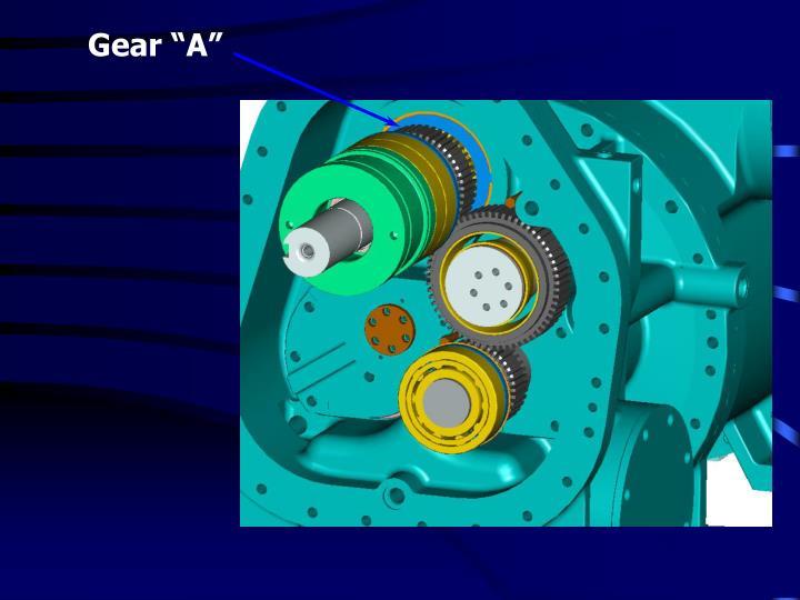"""Gear """"A"""""""