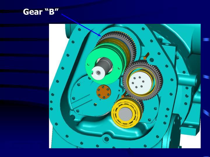 """Gear """"B"""""""