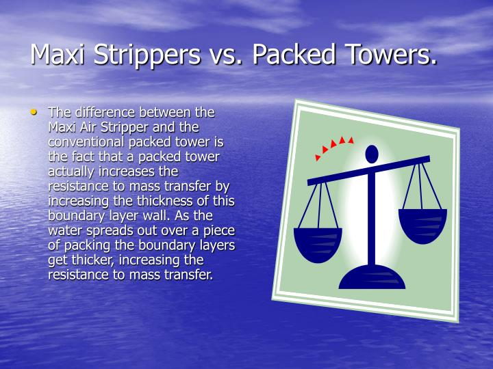 Maxi Strippers vs. Packed Towers.