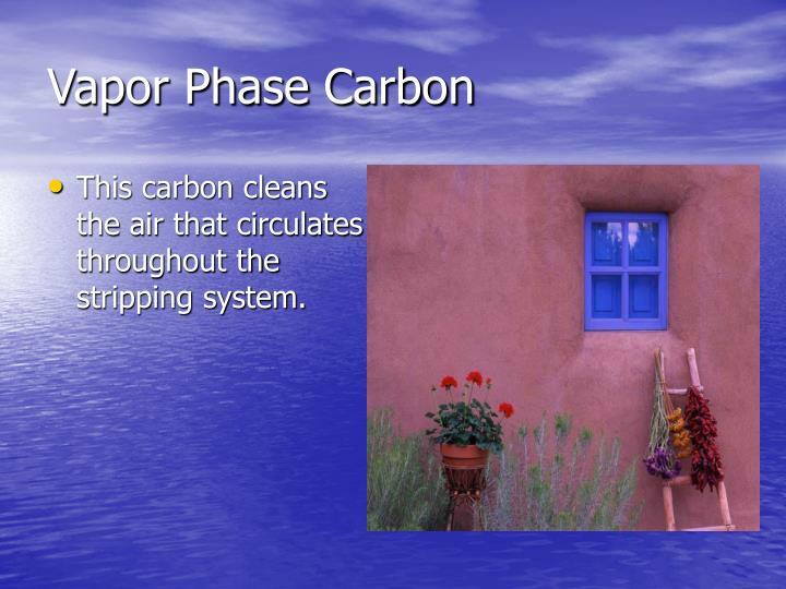 Vapor Phase Carbon