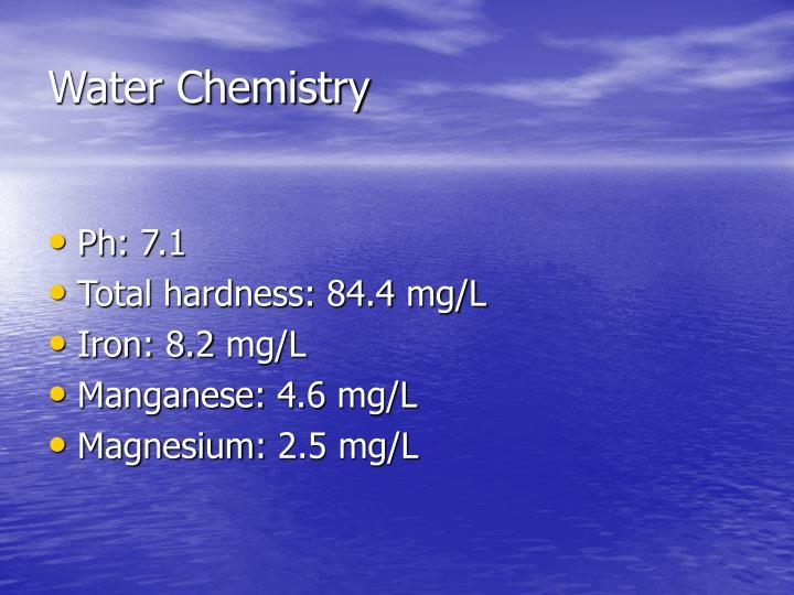 Water Chemistry