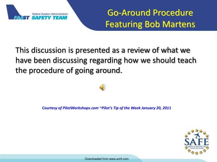 Go-Around Procedure