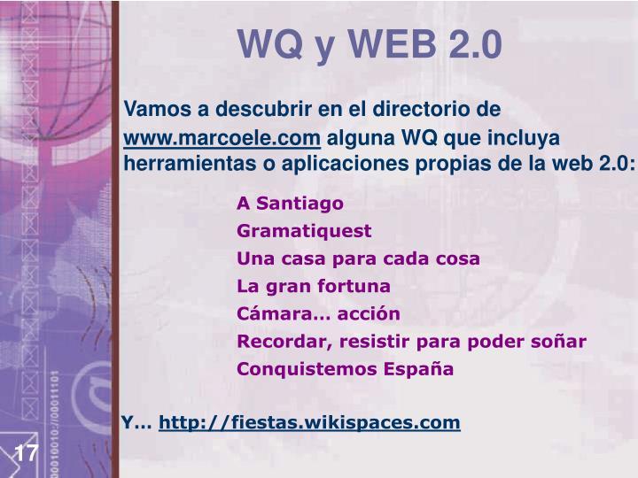 WQ y WEB 2.0