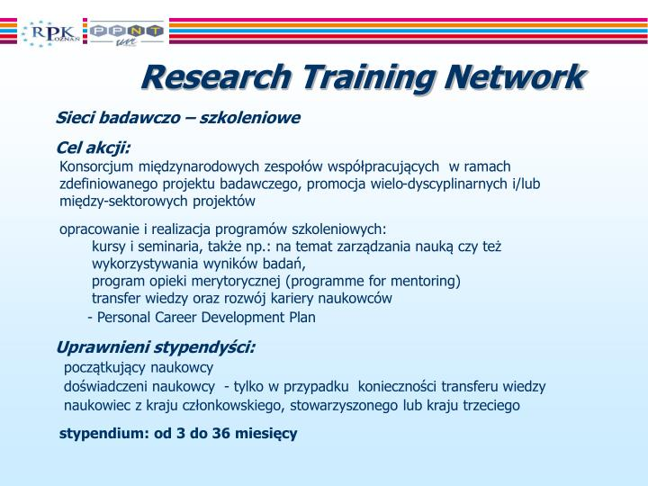 Research Training Network