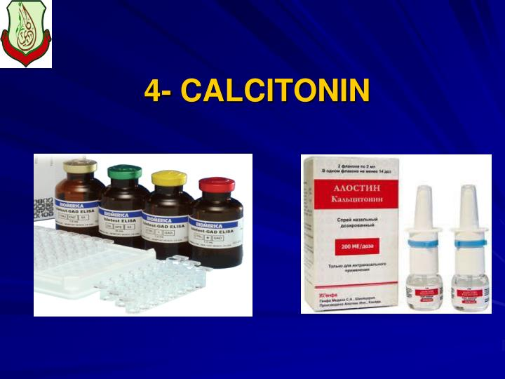 4- CALCITONIN