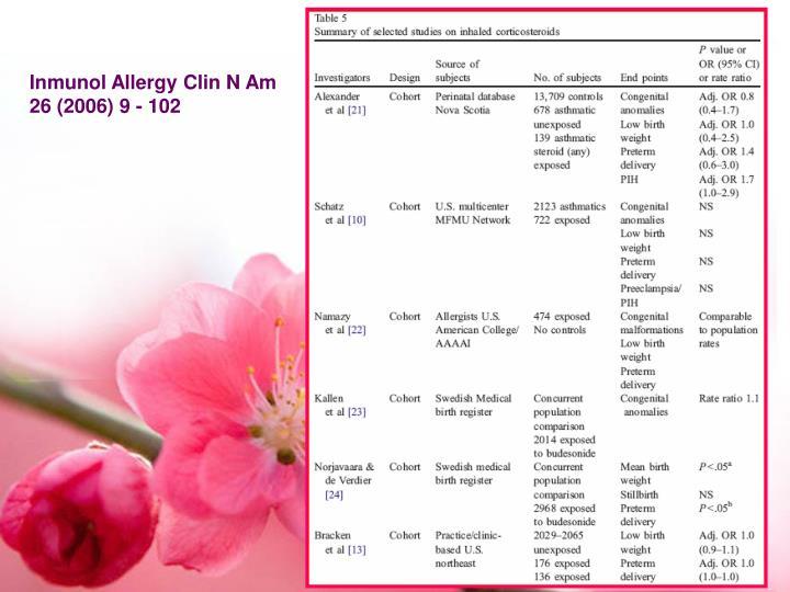 Inmunol Allergy Clin N Am