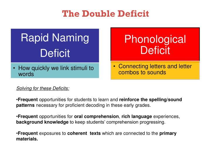 The Double Deficit