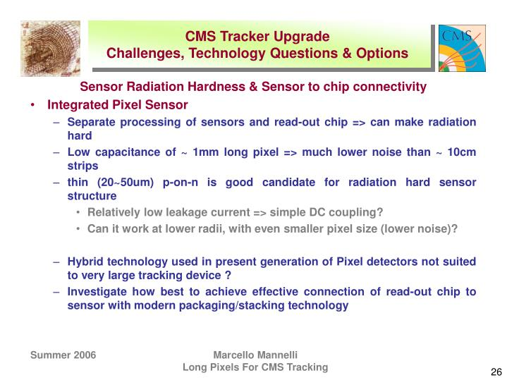 CMS Tracker Upgrade