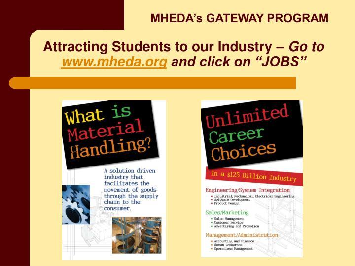 MHEDA's GATEWAY PROGRAM