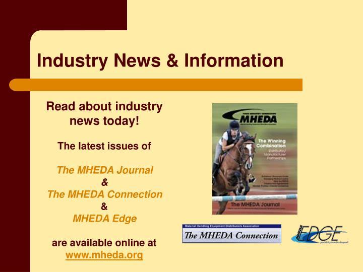 Industry News & Information