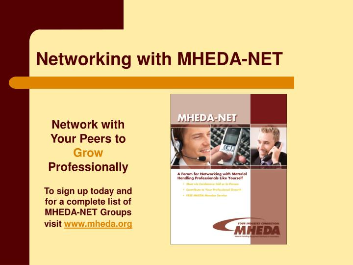 Networking with MHEDA-NET