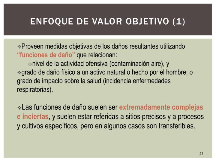 Enfoque de valor objetivo (1)