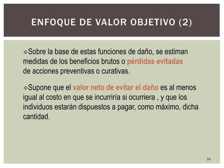 Enfoque de valor objetivo (2)