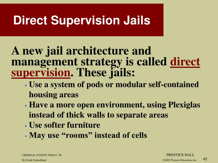 A new jail architecture and
