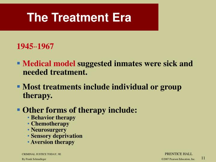 The Treatment Era