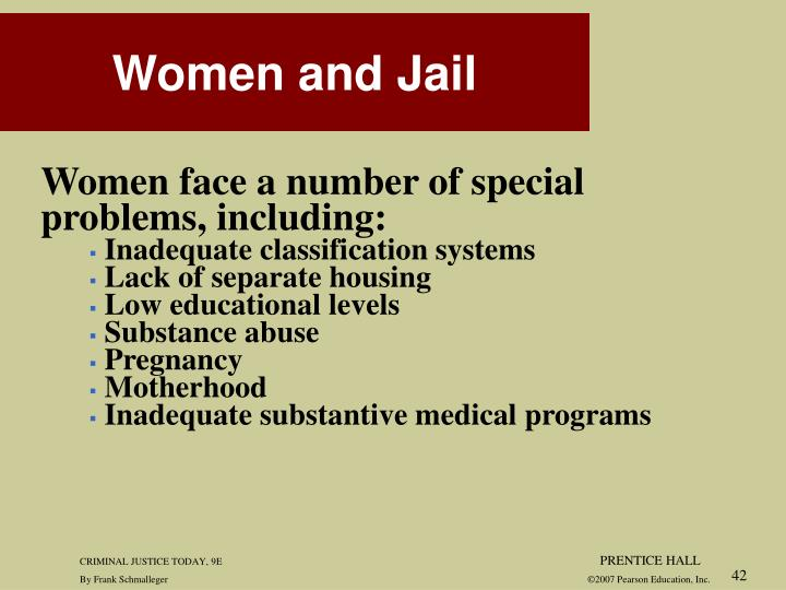 Women face a number of special