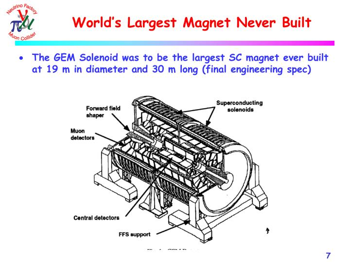 World's Largest Magnet Never Built