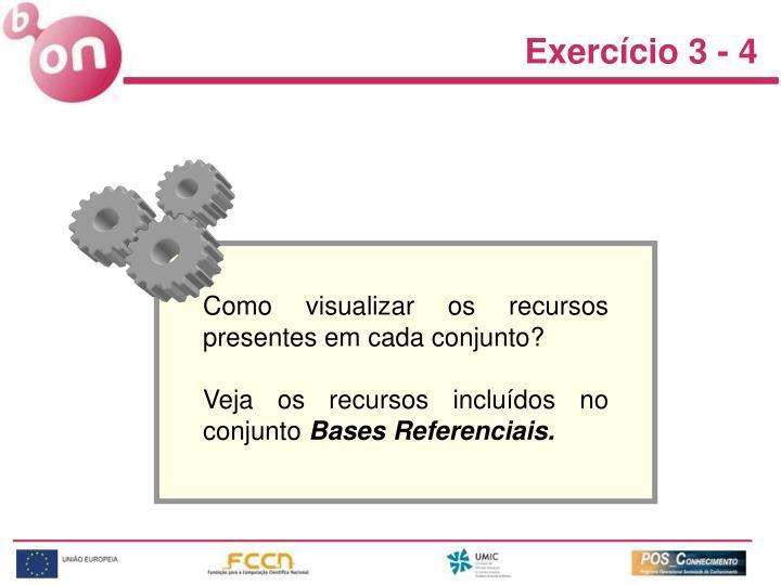 Exercício 3 - 4