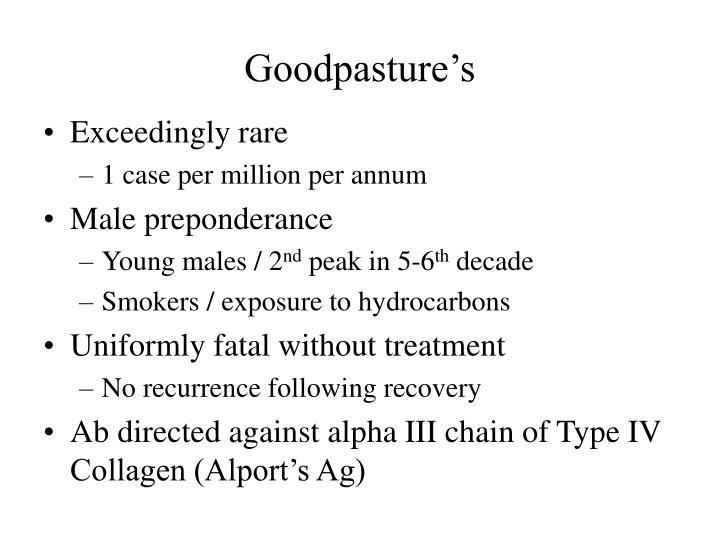 Goodpasture's