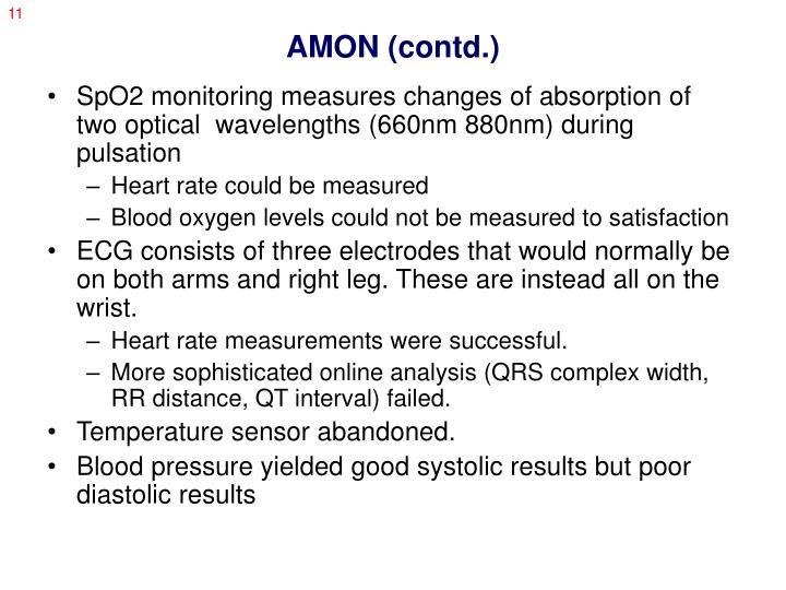 AMON (contd.)
