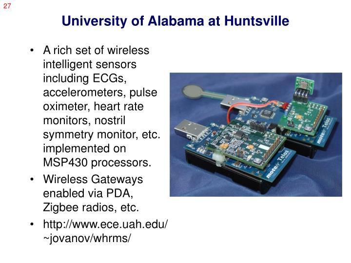 University of Alabama at Huntsville