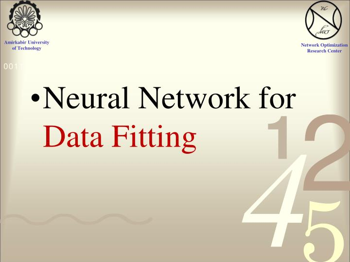 Neural Network for