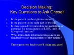 decision making key questions to ask oneself1