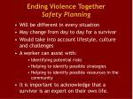 ending violence together safety planning1
