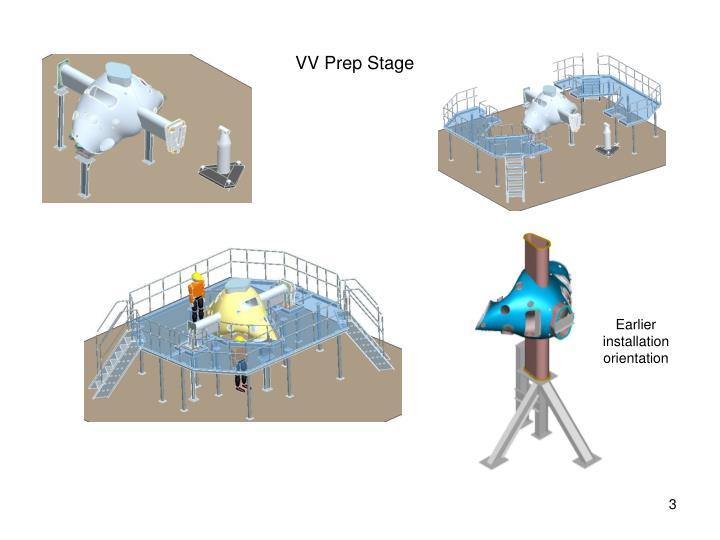 VV Prep Stage