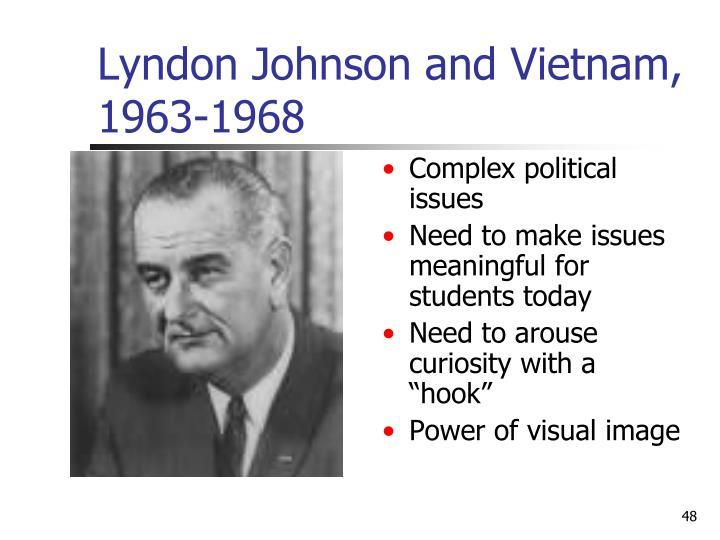 Lyndon Johnson and Vietnam, 1963-1968