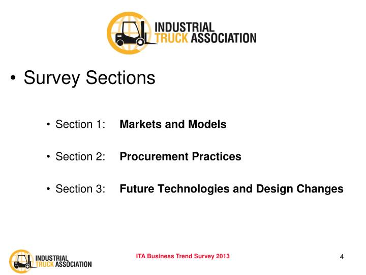 Survey Sections