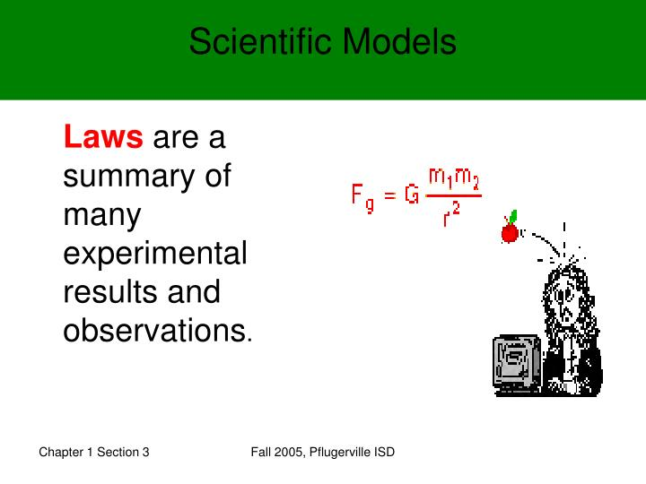 Scientific Models