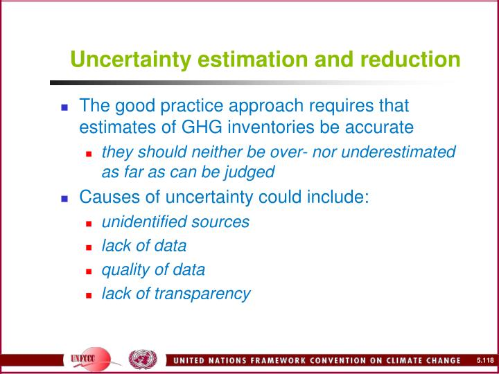 Uncertainty estimation and reduction