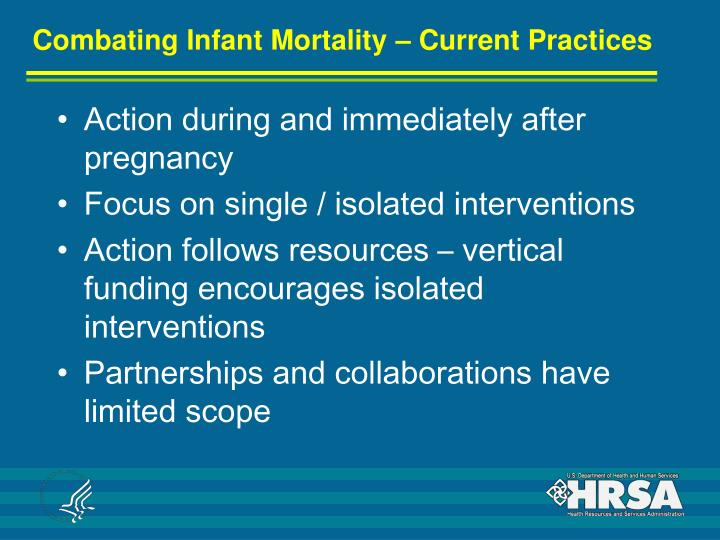 Combating Infant Mortality – Current Practices