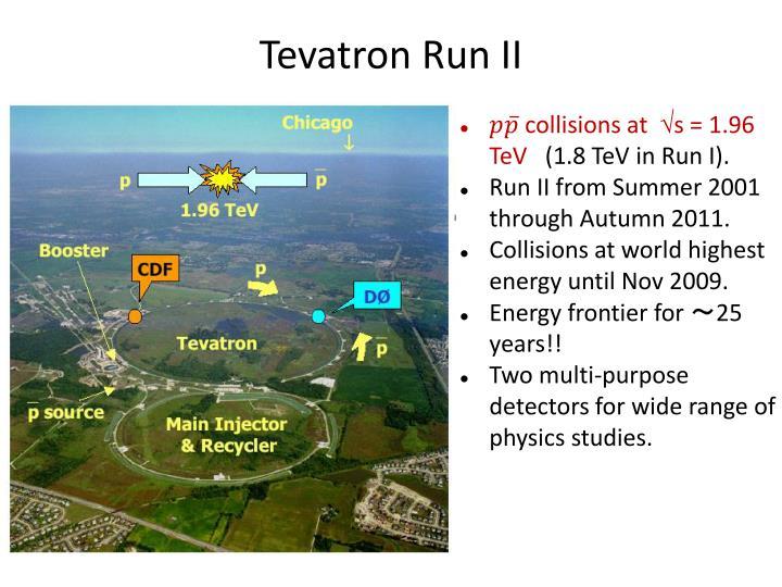 Tevatron Run II