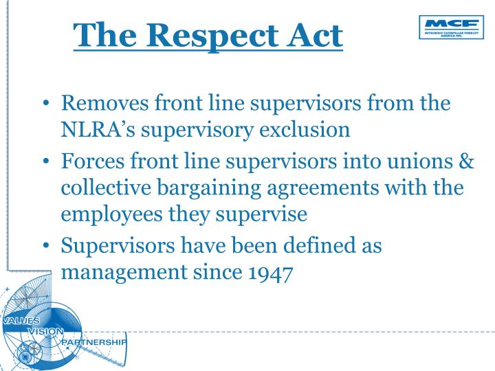 The Respect Act