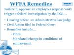 wffa remedies