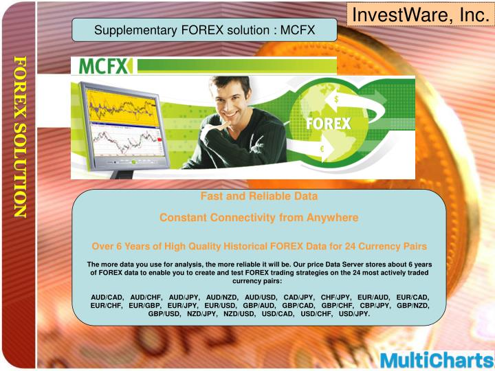 Supplementary FOREX solution : MCFX