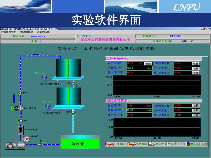 实验软件界面